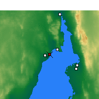 Nearby Forecast Locations - Whyalla - Harita