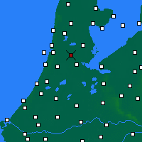 Nearby Forecast Locations - Zaanstad - Harita