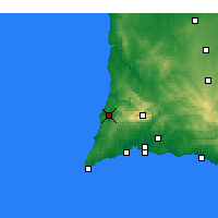 Nearby Forecast Locations - Aljezur - Harita