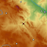 Nearby Forecast Locations - Calatayud - Harita