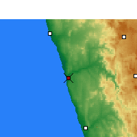 Nearby Forecast Locations - Kleinzee - Harita
