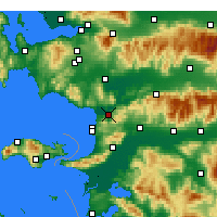 Nearby Forecast Locations - Selçuk - Harita
