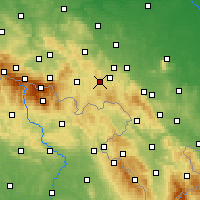 Nearby Forecast Locations - Boguszów-Gorce - Harita