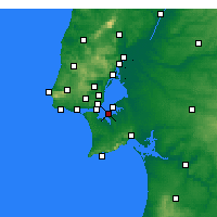 Nearby Forecast Locations - Barreiro - Harita