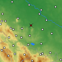 Nearby Forecast Locations - Strzelin - Harita