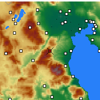 Nearby Forecast Locations - Elatochori - Harita