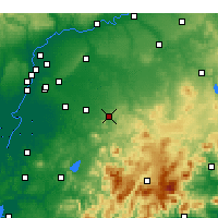 Nearby Forecast Locations - Morón de la Frontera - Harita