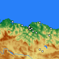 Nearby Forecast Locations - Sestao - Harita
