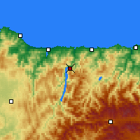 Nearby Forecast Locations - Castrillón - Harita