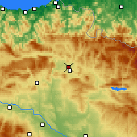 Nearby Forecast Locations - Barañáin - Harita