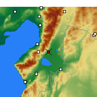 Nearby Forecast Locations - Kırıkhan - Harita
