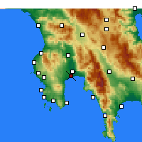 Nearby Forecast Locations - Messene - Harita