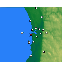Nearby Forecast Locations - Fremantle - Harita