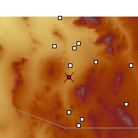 Nearby Forecast Locations - Green Valley - Harita