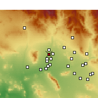 Nearby Forecast Locations - Surprise - Harita